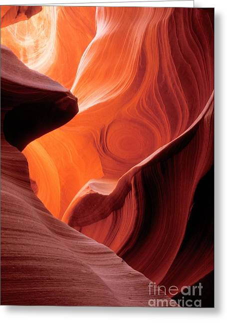 Natural Formations Greeting Cards - Symphony of Light Greeting Card by Sandra Bronstein