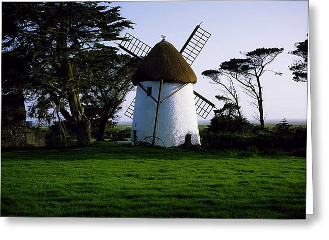 The Tourist Trade Greeting Cards - Tacumshane Windmill, Co Wexford, Ireland Greeting Card by The Irish Image Collection