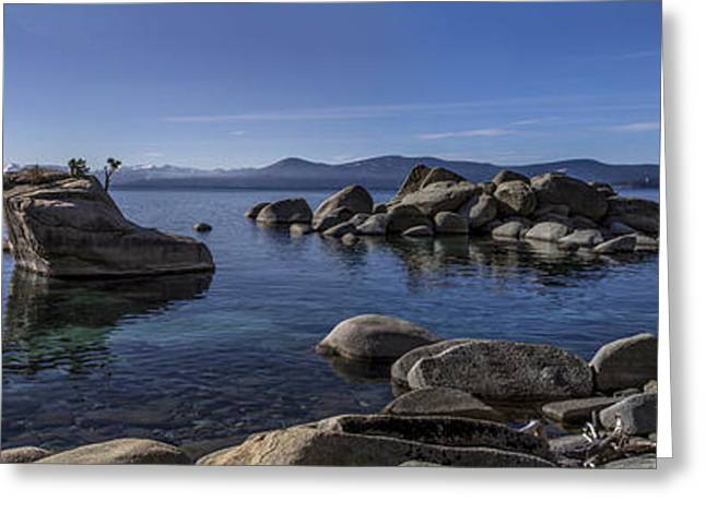Clarity Greeting Cards - Tahoe Clarity Greeting Card by Brad Scott