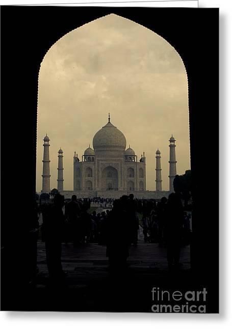 Taj Mahal Greeting Card by Inhar Mutiozabal