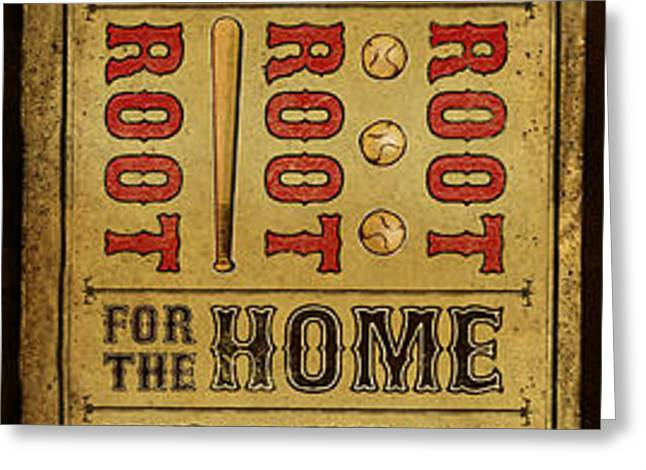 Take Me Out the the Ballgame Greeting Card by Jeff Steed