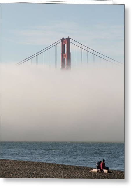 San Francisco Bay Greeting Cards - Taking a Moment Greeting Card by Loud Waterfall Photography Chelsea Sullens