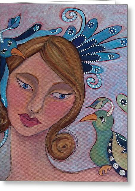 Taking Flight Greeting Card by Suzanne Drolet