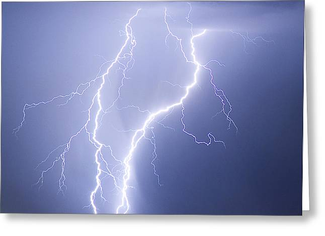Images Lightning Greeting Cards - Taking It To The Street Greeting Card by James BO  Insogna