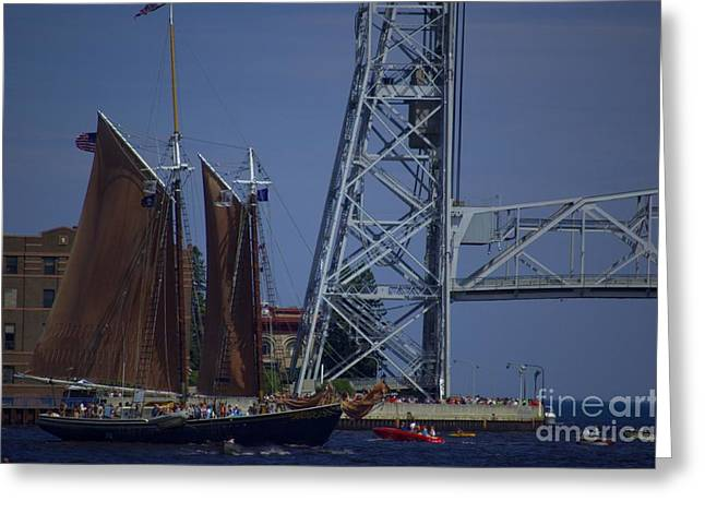 Tall Ships Greeting Cards - Tall Ships Greeting Card by The Stone Age