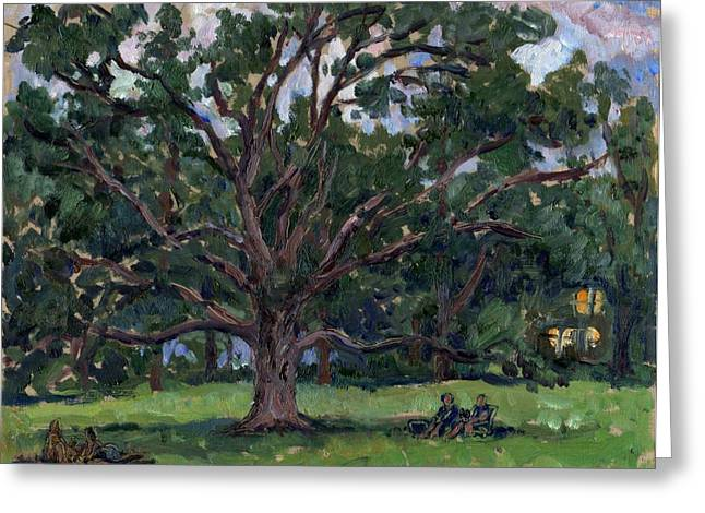 Thor Paintings Greeting Cards - Tanglewood Tree Greeting Card by Thor Wickstrom