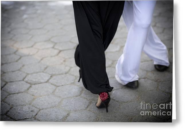 Leda Photography Greeting Cards - Tango Love Greeting Card by Leslie Leda
