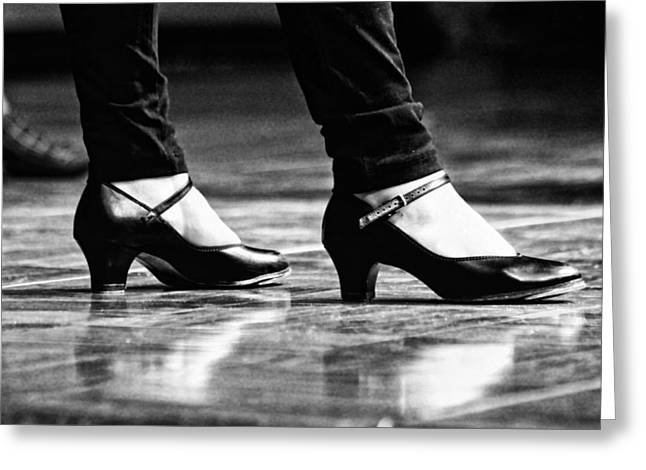 Tap Greeting Cards - Tap Shoes Greeting Card by Lauri Novak