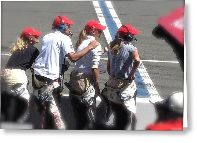 Indycar Greeting Cards - Targets Hope Greeting Card by Terry Zeyen
