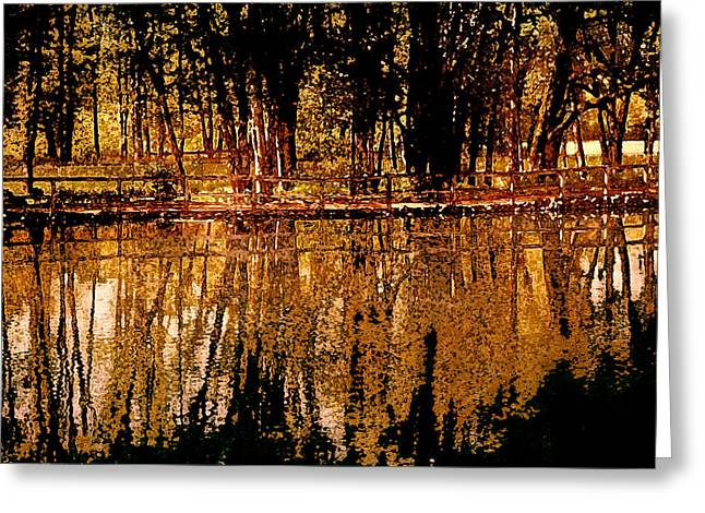 Fall Photos Mixed Media Greeting Cards - Taste of Autumn Greeting Card by Bonnie Bruno