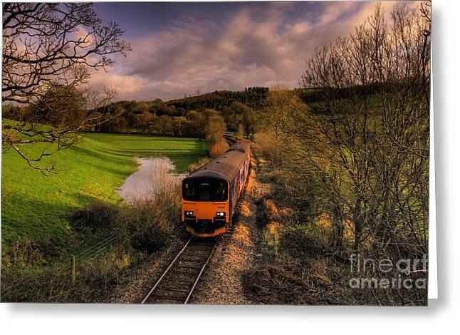 Taw Valley Greeting Card by Rob Hawkins