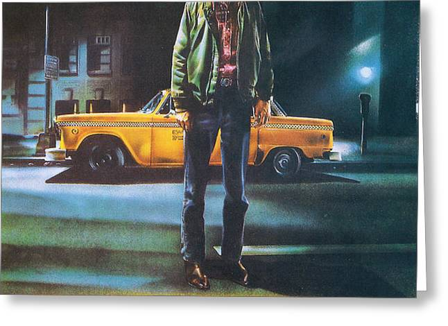 Taxi Driver - Robert De Niro Greeting Card by Nomad Art And  Design