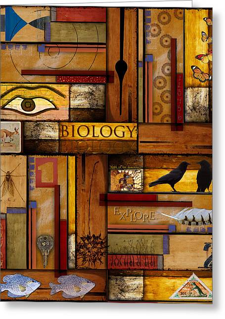 Science Greeting Cards - Teacher - Biology Greeting Card by Carol Leigh