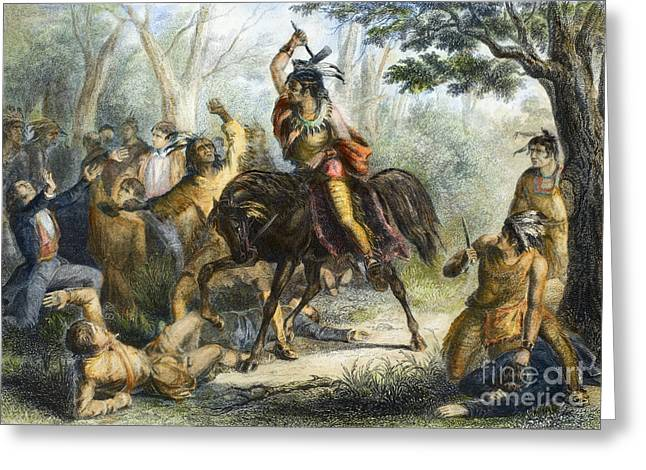 1813 Greeting Cards - Tecumseh (1768-1813) Greeting Card by Granger