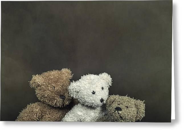 teddy bear family Greeting Card by Joana Kruse
