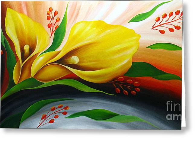 Floral Photographs Paintings Greeting Cards - Tender Anemone Greeting Card by Uma Devi