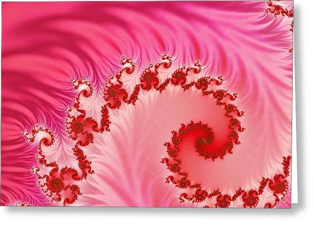 Tendrils Greeting Card by Sharon Lisa Clarke