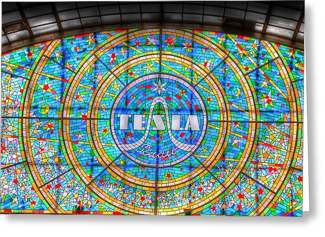 Village By The Sea Greeting Cards - Tesla Greeting Card by Barry R Jones Jr