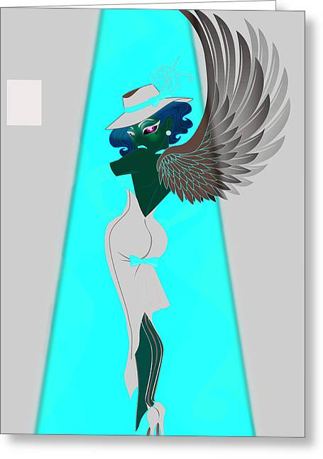 Torch Greeting Cards - Tess Greeting Card by Cristina McAllister