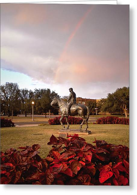 West Tx Greeting Cards - Texas Tech University Greeting Card by Ilker Goksen