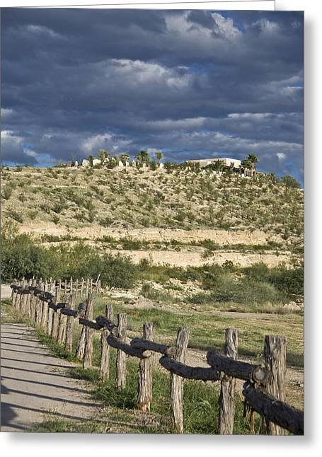 Arid Country Greeting Cards - Texas, Western Themed Brewster County Greeting Card by Richard Nowitz