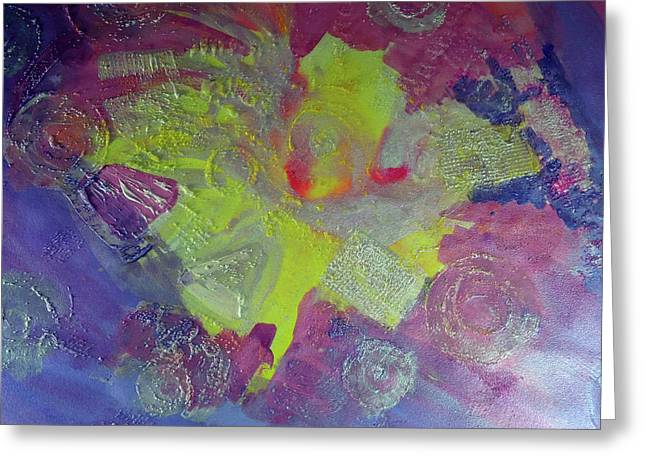 Designers Choice Mixed Media Greeting Cards - Texture Abstract Greeting Card by Don Wright
