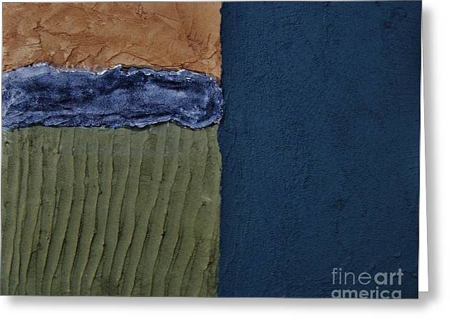 Mix Medium Mixed Media Greeting Cards - Textures Four ll Greeting Card by Marsha Heiken