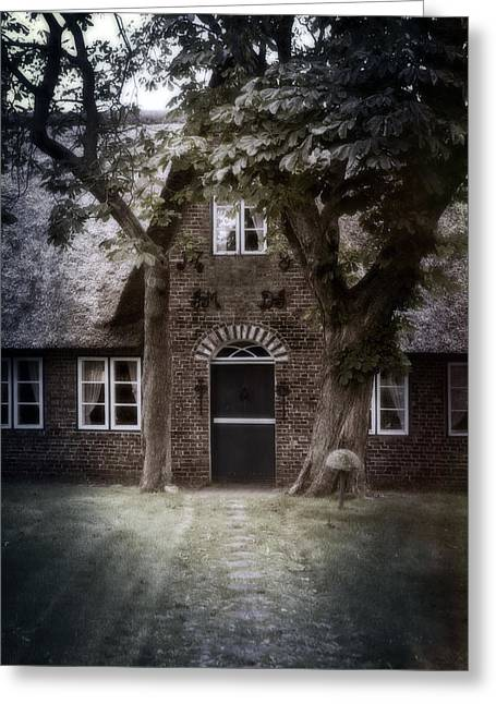 Parc Greeting Cards - Thatch Greeting Card by Joana Kruse