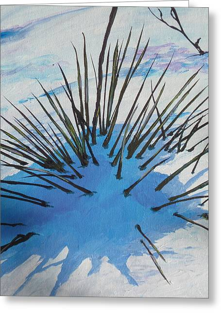 Poke Greeting Cards - Thaw Greeting Card by Sandy Tracey