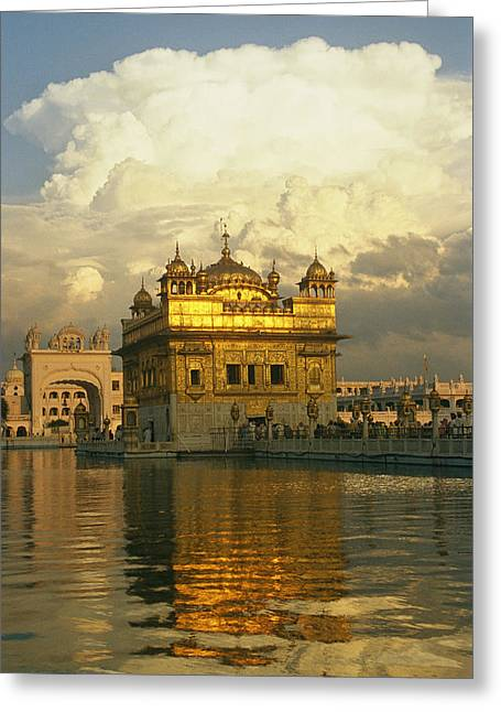 Antiquities And Artifacts Greeting Cards - The 16-th Century Golden Temple Greeting Card by Martin Gray