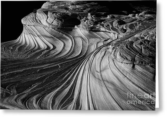 Surreal Landscape Photographs Greeting Cards - The 2nd Wave Greeting Card by Keith Kapple
