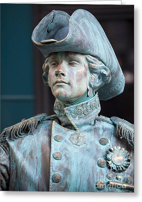 The Admiral Lord Nelson Greeting Card by Chris Dutton