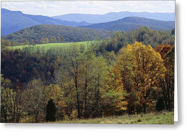 West Fork Greeting Cards - The Allegheny Front, North Fork Greeting Card by Raymond Gehman