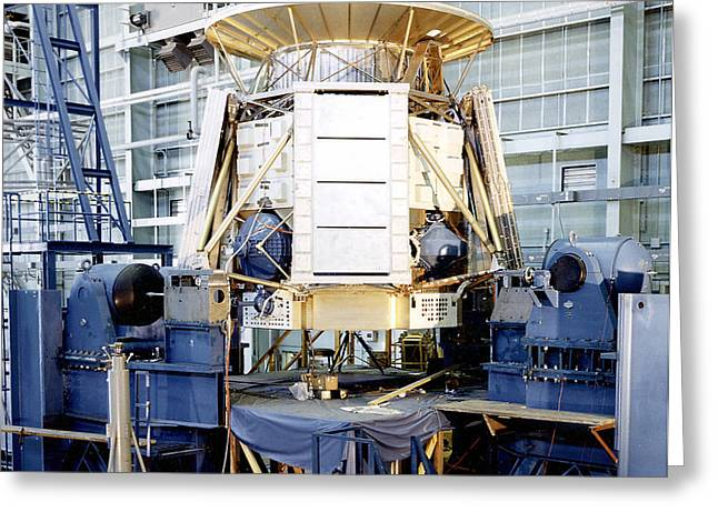 The Apollo Telescope Mount Undergoing Greeting Card by Stocktrek Images