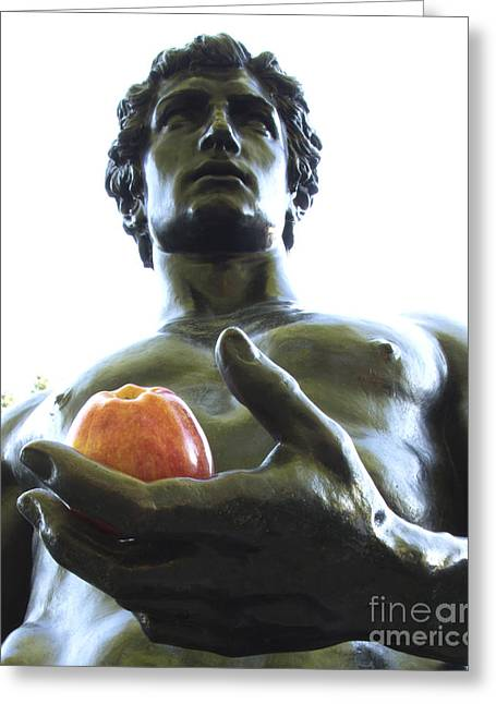 Chevalier Greeting Cards - The Apple of My Eye Greeting Card by Elizabeth Chevalier