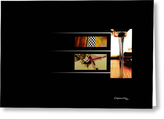 Cespon Greeting Cards - The Art of Wine 2 Greeting Card by Xoanxo Cespon