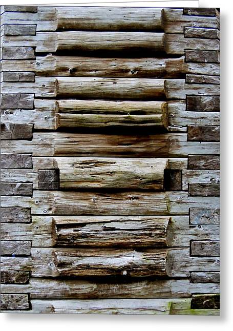 The Art Of Wood 2 Greeting Card by Randall Weidner