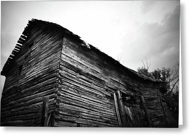 Barn Door Greeting Cards - The Back Greeting Card by Jerry Cordeiro