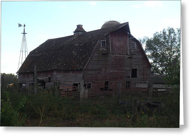 The Barn IIi Greeting Card by Bonfire Photography
