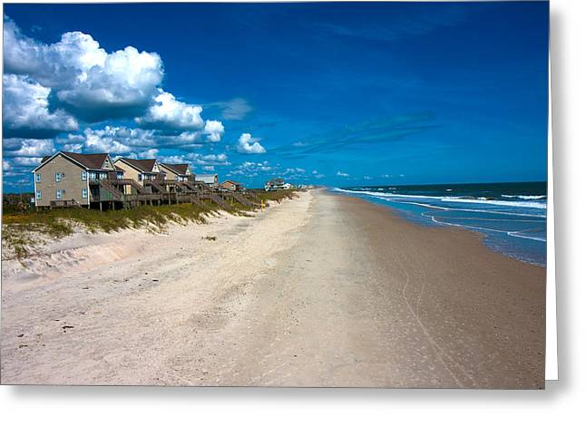 Topsail Island Greeting Cards - The Beach is Yours Greeting Card by Betsy A  Cutler