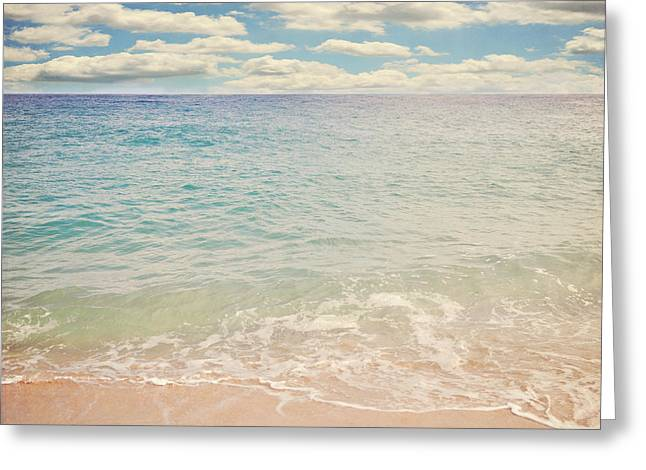 Lyn Randle Greeting Cards - The Beach Greeting Card by Lyn Randle