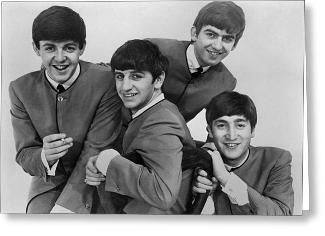 Harrison Greeting Cards - The Beatles, 1963 Greeting Card by Granger