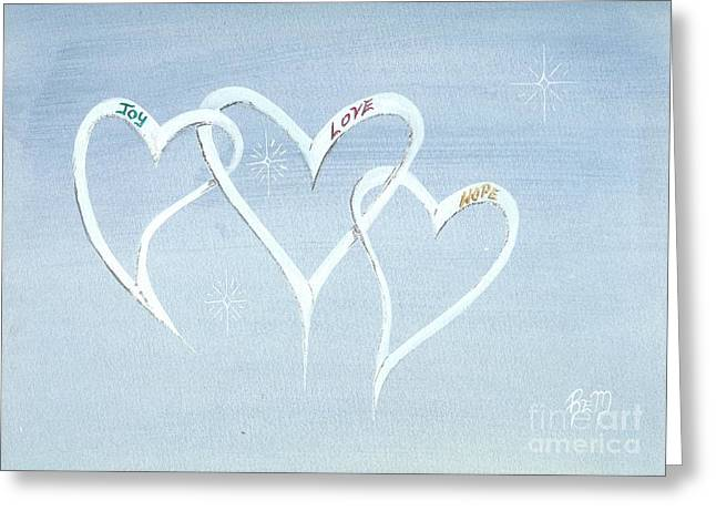 Recently Sold -  - Robert Meszaros Greeting Cards - The Best In Us All... Greeting Card by Robert Meszaros