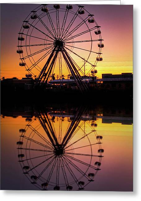 Forboding Greeting Cards - The Big Easy Greeting Card by Pixel Perfect by Michael Moore