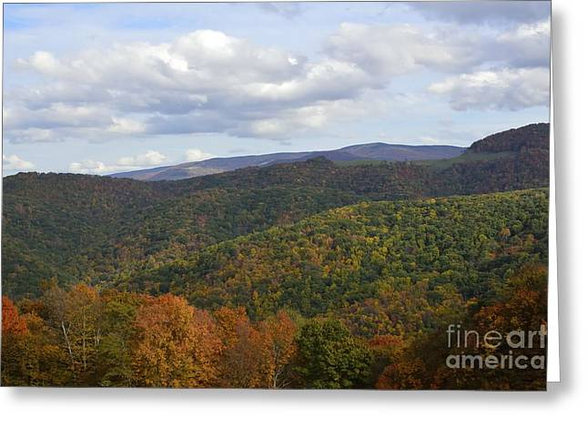 West Virginia Highlands Greeting Cards - The Big Three Greeting Card by Randy Bodkins