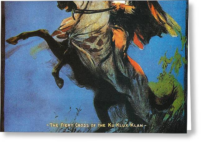 The Birth of a Nation Greeting Card by Nomad Art And  Design