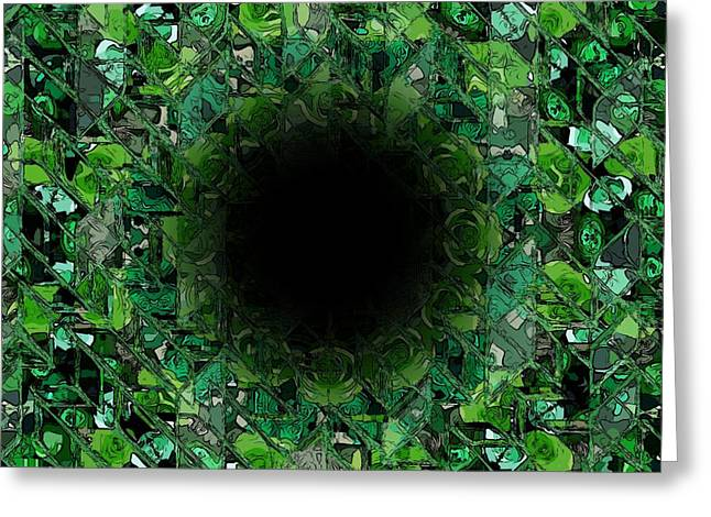 The Black Hole Greeting Card by Stefan Kuhn