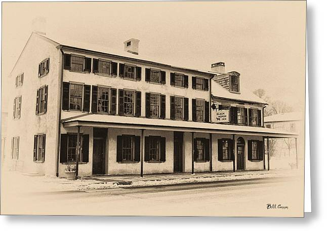 Erdenheim Greeting Cards - The Black Horse Inn - Flourtown Pa Greeting Card by Bill Cannon