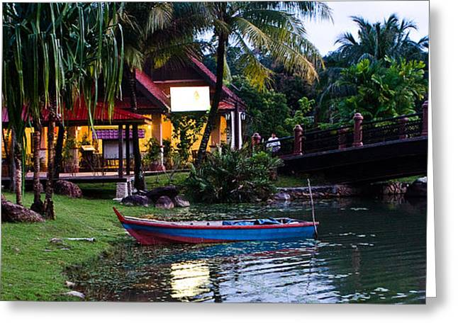 Malaysia Greeting Cards - The Boat Greeting Card by John Buxton