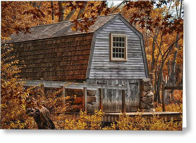 Concord Digital Greeting Cards - The Boathouse at the Manse Greeting Card by Tricia Marchlik